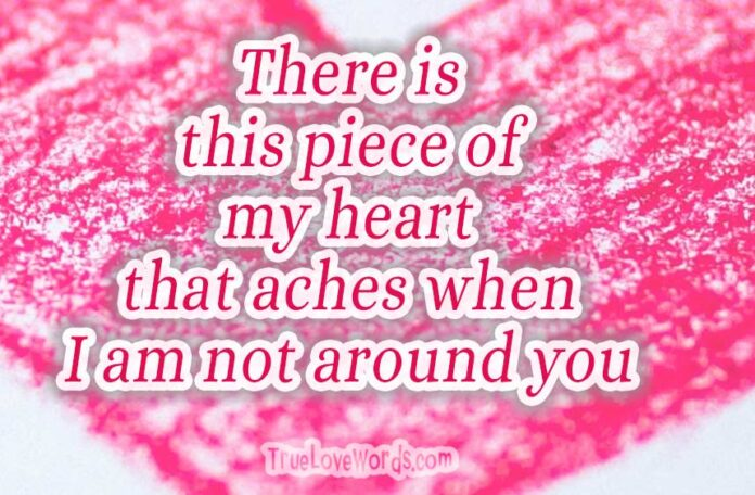 Sweet Love Messages for Girlfriend » True Love Words