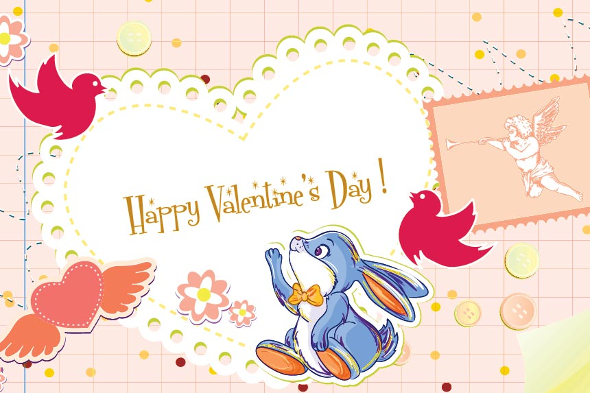 Happy Valentines Messages Card 7