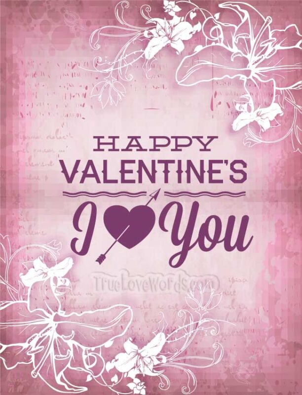 Valentines messages for her - Happy Valentines day