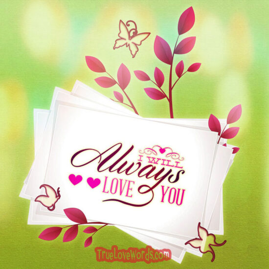 Valentine's Day messages for him - card 1