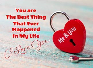 I Love you me and you