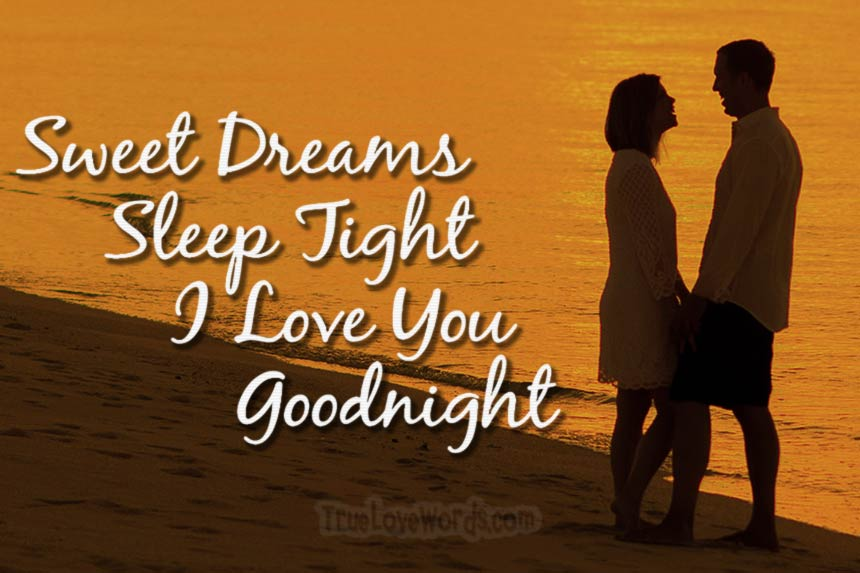 Sweet Good Night Love Messages for Her » True Love Words