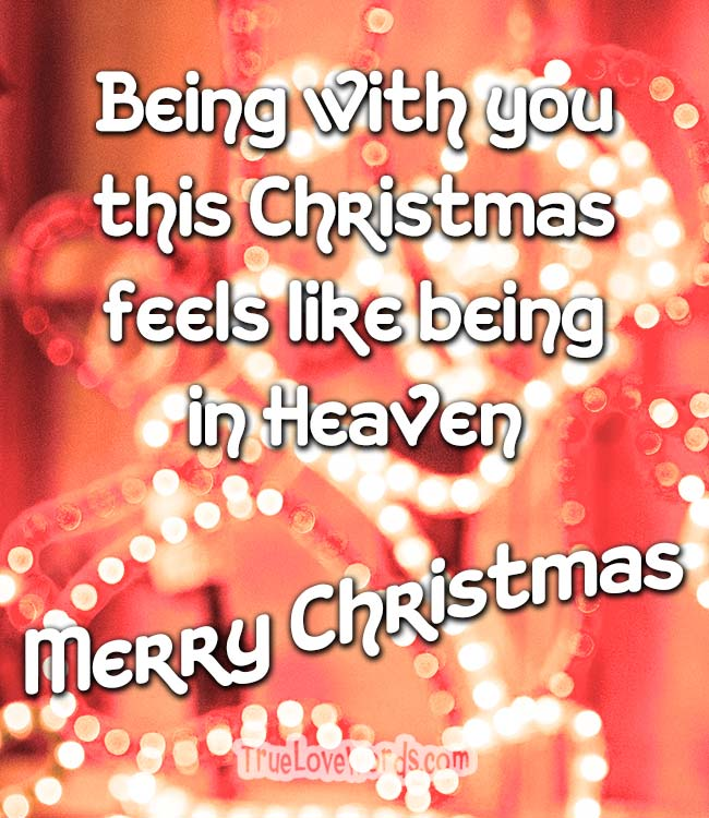 20 Magical Christmas Love Messages » True Love Words