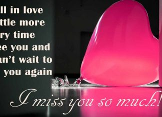 I fall in love a little more every time I see you I miss you so much!