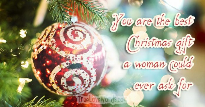 Romantic Christmas Greetings and Wishes for Him » True Love Words