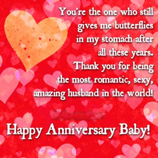 Happy Anniversary Baby
