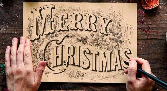 Merry Christmas Wishes for Greeting Cards