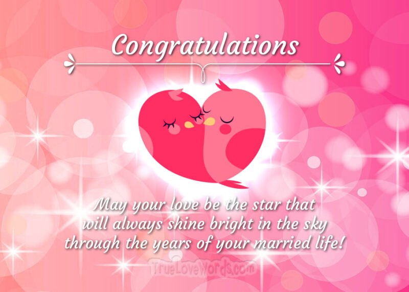 wedding wishes and congratulations card