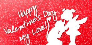 Happy Valentines Day my Love - Valentine's day wishes for girlfriend