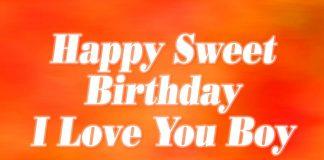 Cute Birthday For your Boyfriend - I Love You Boy