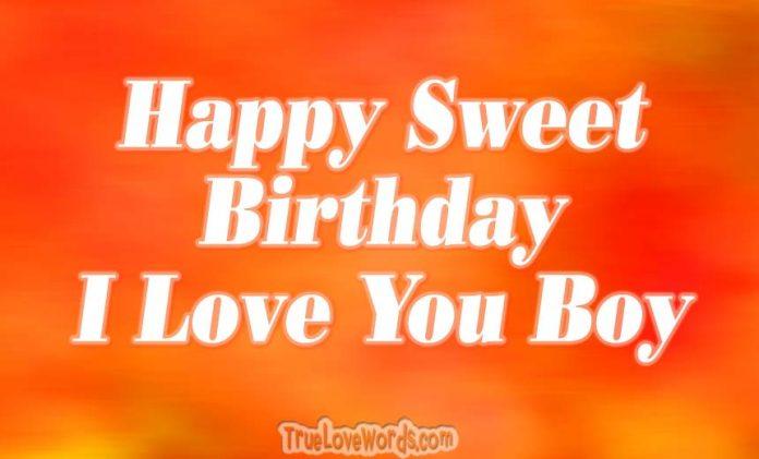 35 Cute Birthday Wishes For Your Boyfriend 187 True Love Words