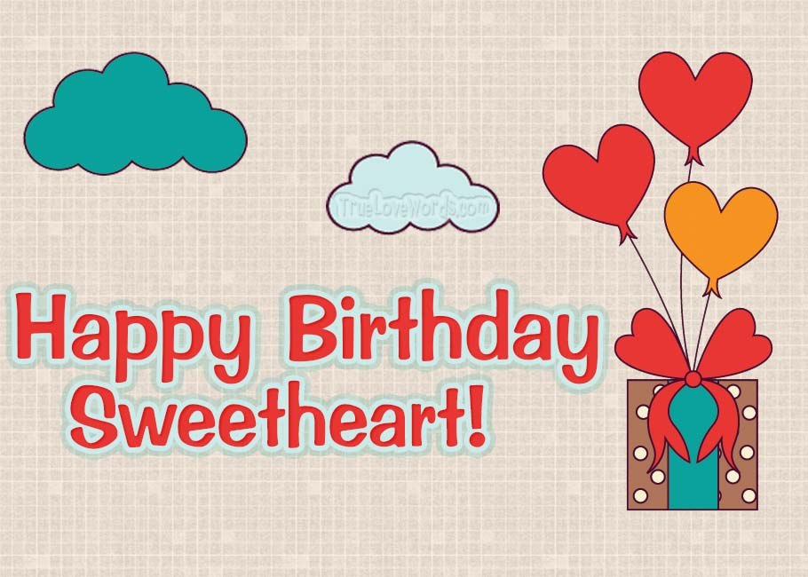 happy birthday sweetheart birthday wishes for boyfriend