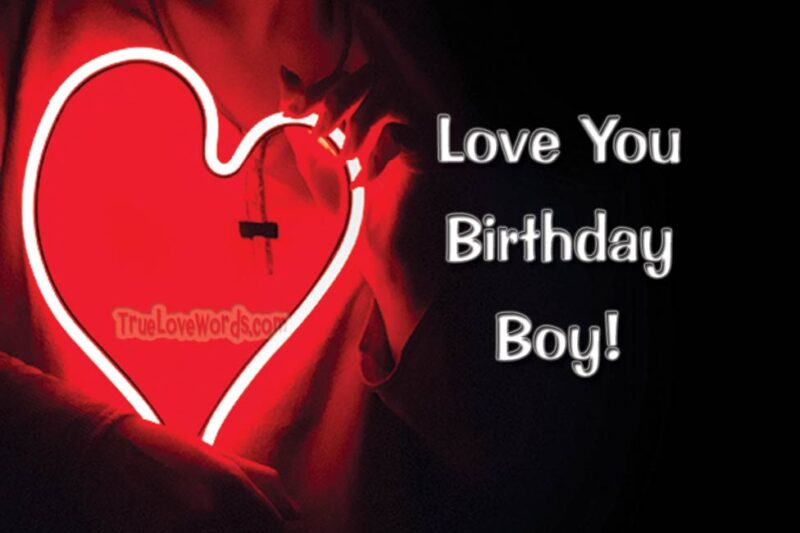 wish birthday to boyfriend
