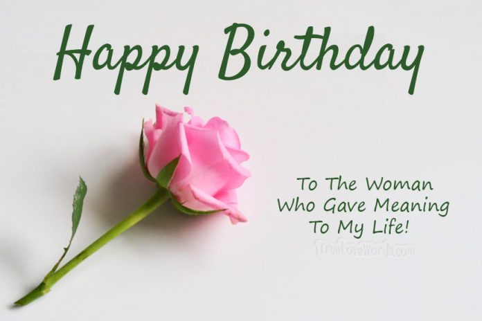 Happy Birthday Quotes For Wife The 50 Cutest Birthday Wishes For Wife   True Love Words Happy Birthday Quotes For Wife