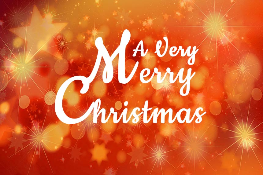 Very Merry Christmas wishes for friends