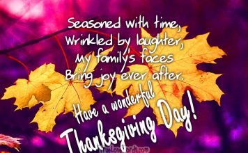 Have a wonderful Thanks giving day wishes