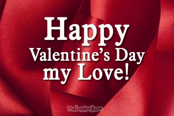 Happy Valentine's Day my Love