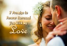 Wedding vows for her -marriage promises to wife
