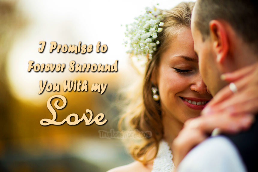 Romantic Wedding Vows.20 Romantic Wedding Vows For Her Marriage Promises To Wife
