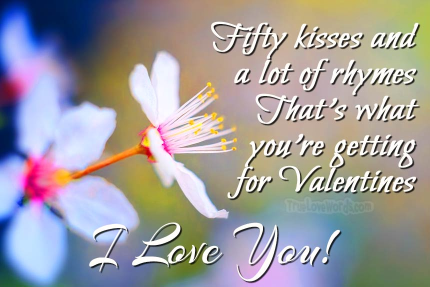 I love you - Valentine's Day Messages For Husband