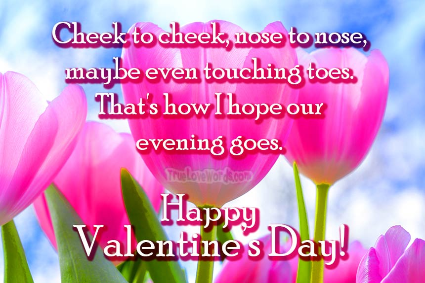 45 Romantic Valentine's Day Messages For Husband » True Love