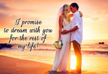 Wedding vows for him