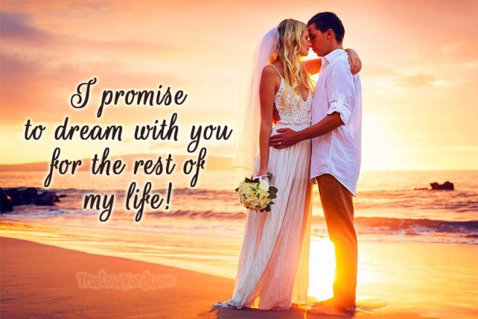 20 Sweet Wedding Vows For Him - Marriage Promises To Husband