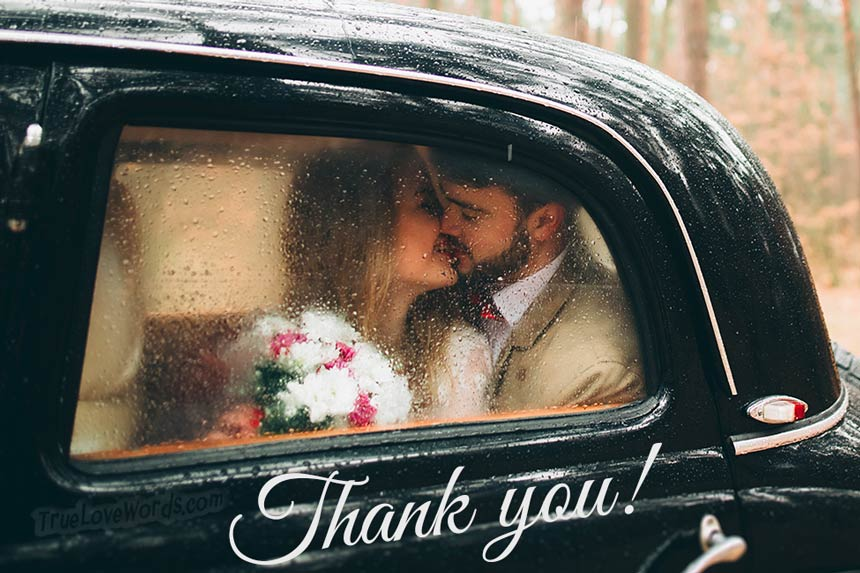 Wedding Thank You Card Wording Tips And Messages True Love Words