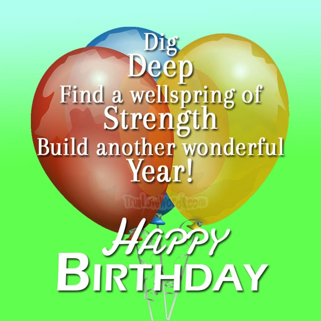 inspirational happy birthday wish