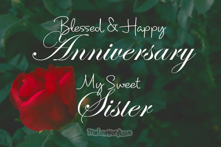 35 Wedding Anniversary Wishes For Sister Heartfelt And