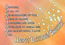 Happy Birthday Brother - Birthday Wishes For Brother