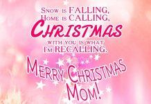Christmas wishes for Mom - Merry Christmas Mom
