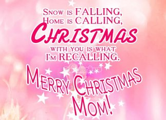 Christmas wishes for Mom - Merry Christmas Mom