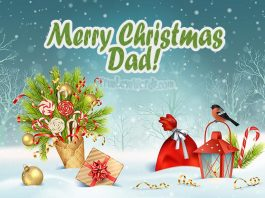 Merry Christmas wishes for Dad - Merry Christmas Dad