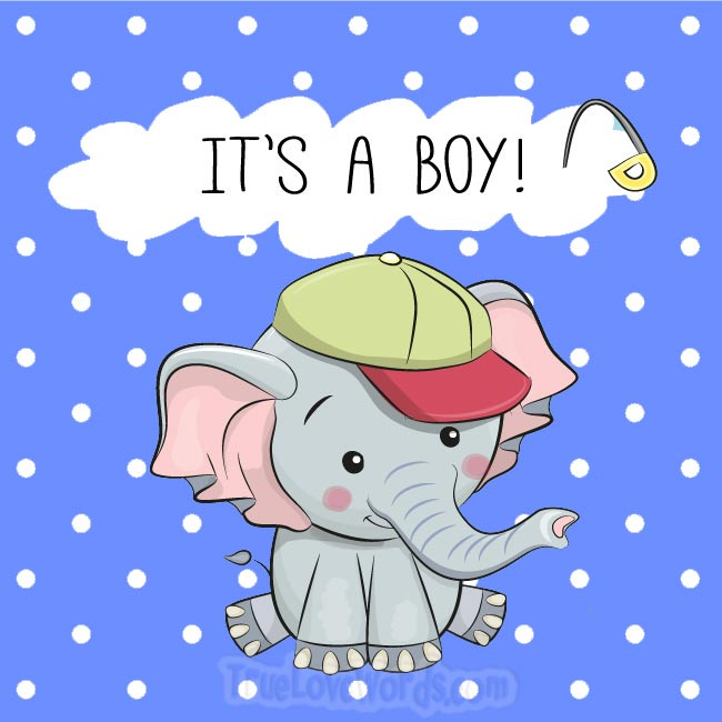 It's a boy - Prengnacy wishes