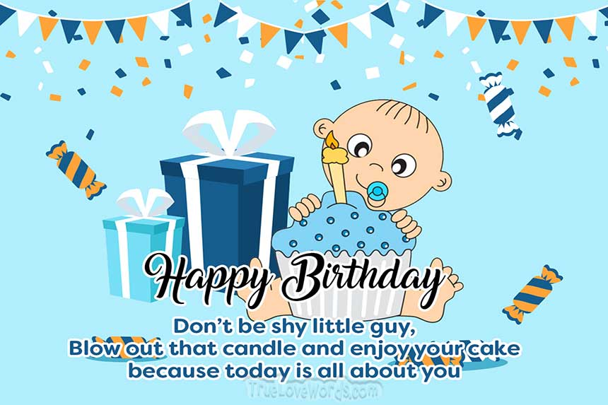 1st Birthday Wishes And Messages For Girls Boys And Twins