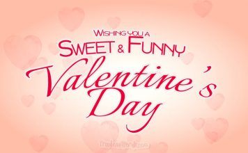 Sweet and Funny Valentine's day messages