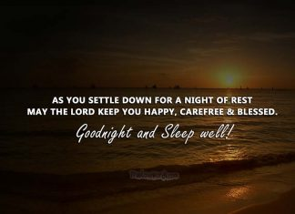 Good Night Prayers For Loved Ones