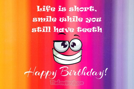 Funny birthday messages for friends