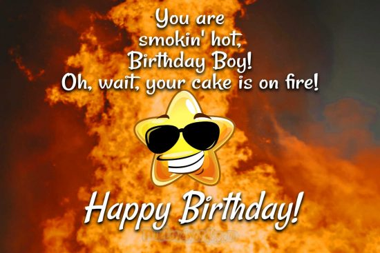 Funny birthday messages for boyfriend
