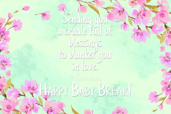 Happy Baby Break - Maternity leave wishes and quotations