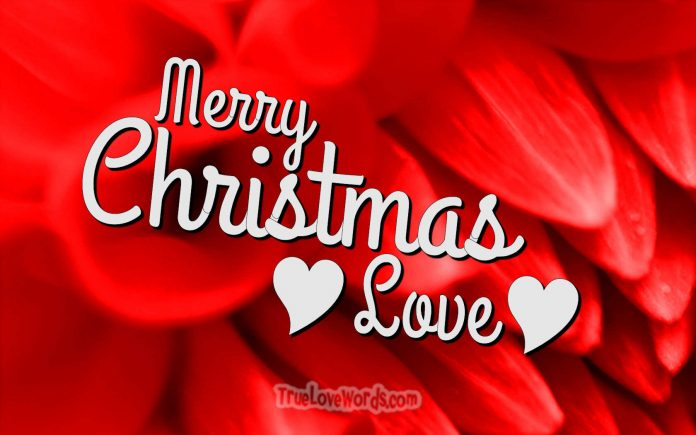 Christmas wishes for girlfriend - love you