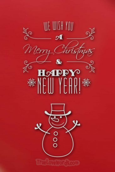Merry Christmas Sister & Happy New Year