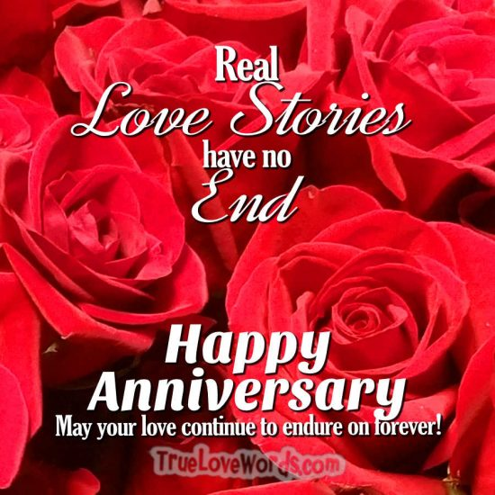 Happy anniversary roses