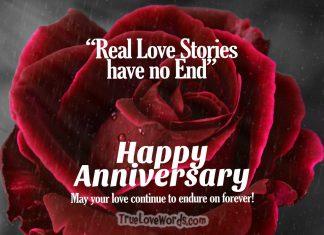 Happy wedding anniversary wishes quotes