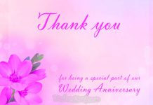 thank you messages for anniversary wishes